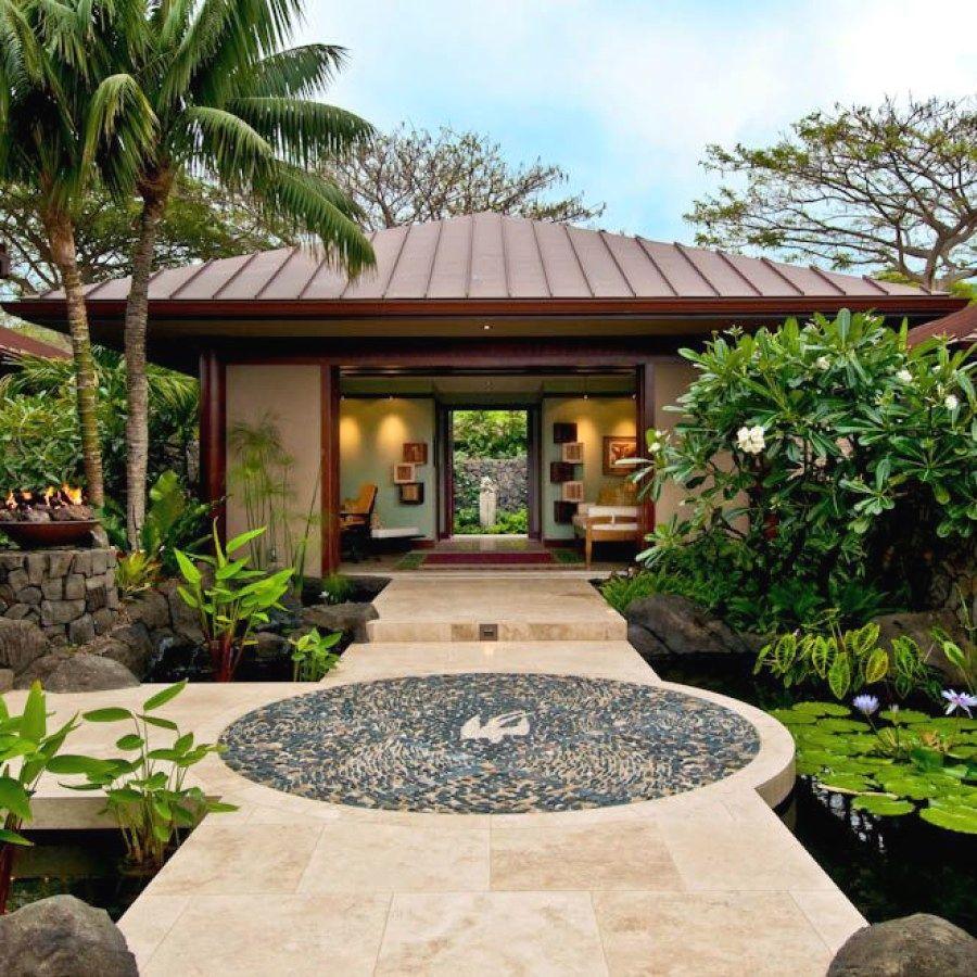 29 Creative Garden Designs You Can Build Yourself To Accent Your Home Tropical Garden Designs Design No 5754s Bali Style Home Bali House Home Garden Design