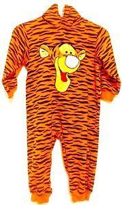 12 Child Disney Tigger Halloween Costume Winnie the Pooh ...