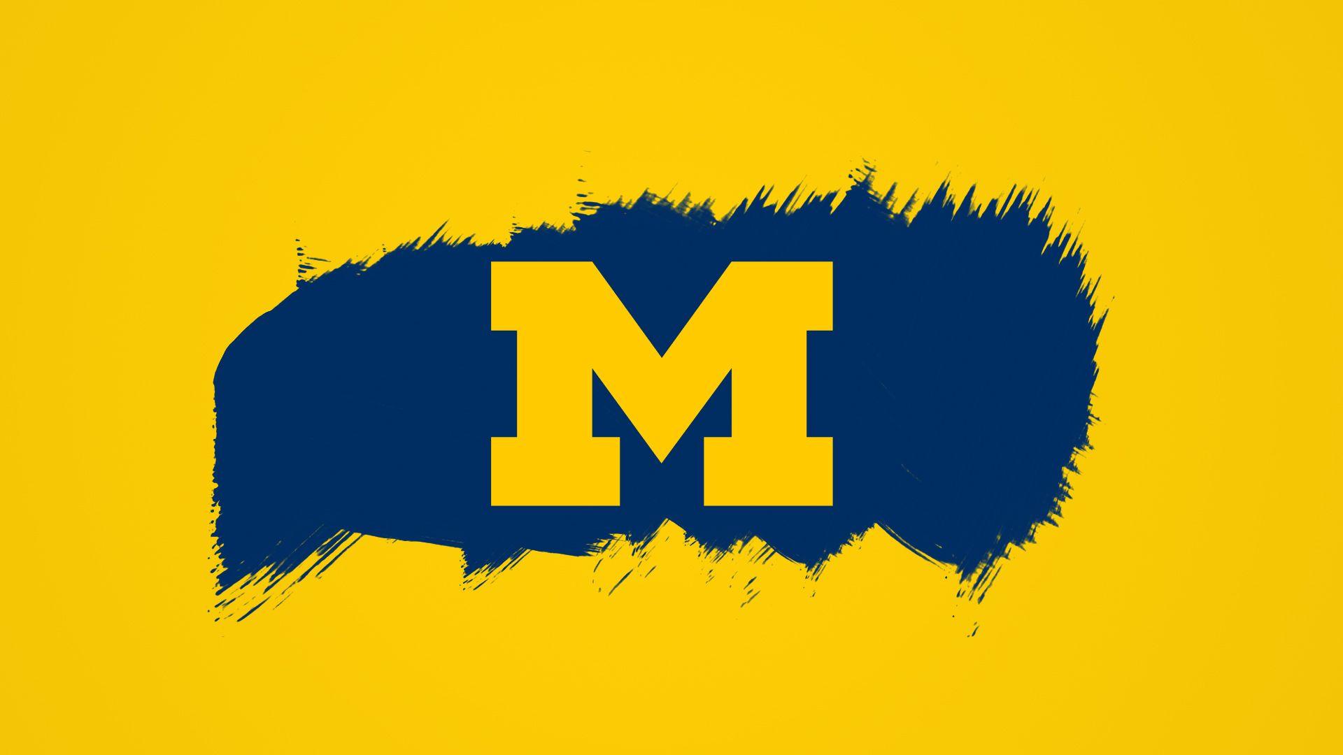 The University of Michigan Wallpaper Border Wallpaper Border