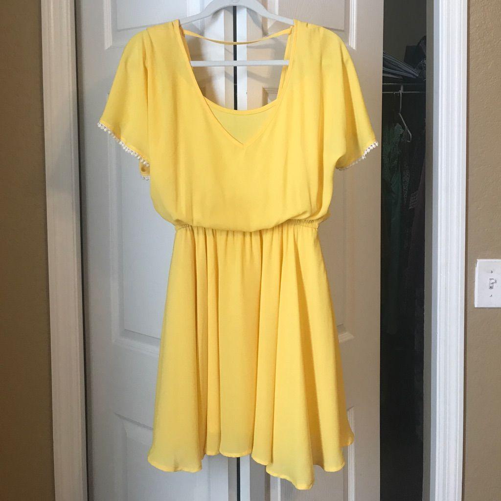 d85293c33f7 Gianni Bini Yellow Dress
