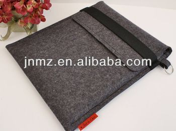Eco-Friendly wool felt laptop sleeve