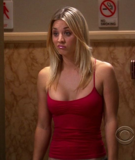 kaley cuoco - the big bang theory's hot neighbor penny | my favorite