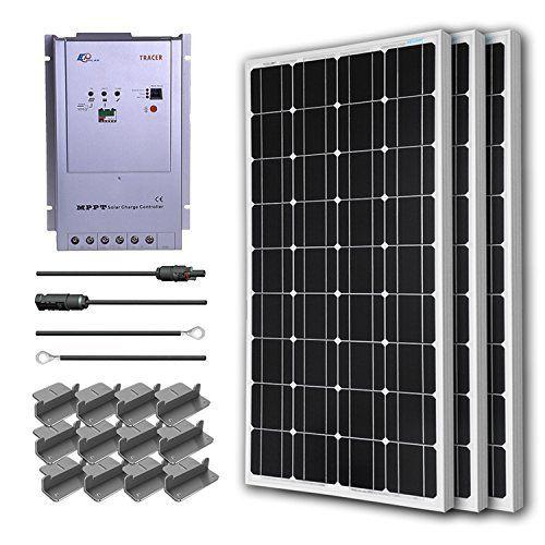 Ramsond 100 Watt 12 Volt Monocrystalline Pv Solar Panel Sp 100 The Home Depot Solar Pv Panel Solar Panels Solar Pv