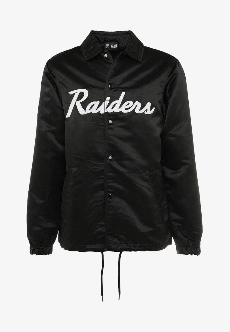 low priced bda30 3239a NFL OAKLAND RAIDERS COACH JACKET - Squadra - black   RAIDERS ...