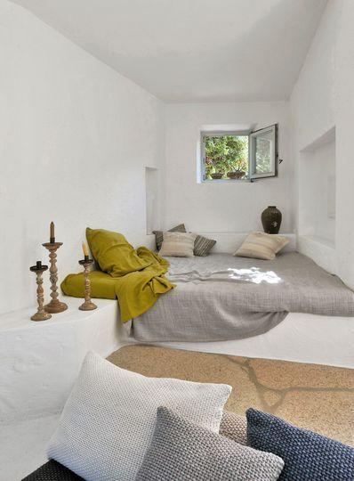 Déco bord de mer chic  chambre, maison, salon Interiors