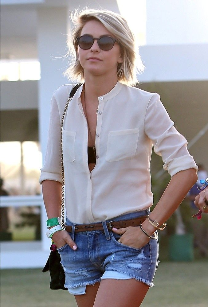 Casual Chic Cutoffs For The Weekend Love This Effortless Look