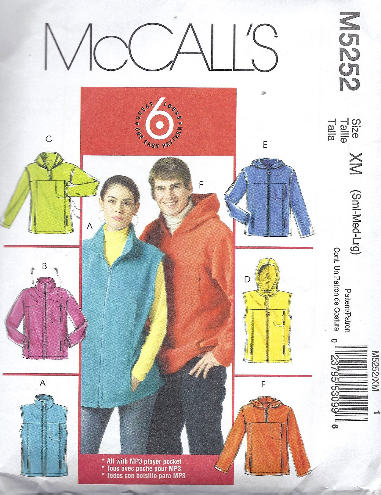 A Toasty Warm Fleece Jacket-McCalls 5252 Pattern Review | Pattern ...
