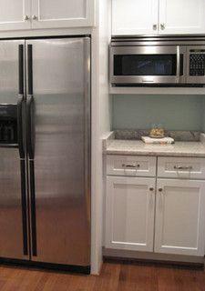 Fridge Surround And Microwave Nook