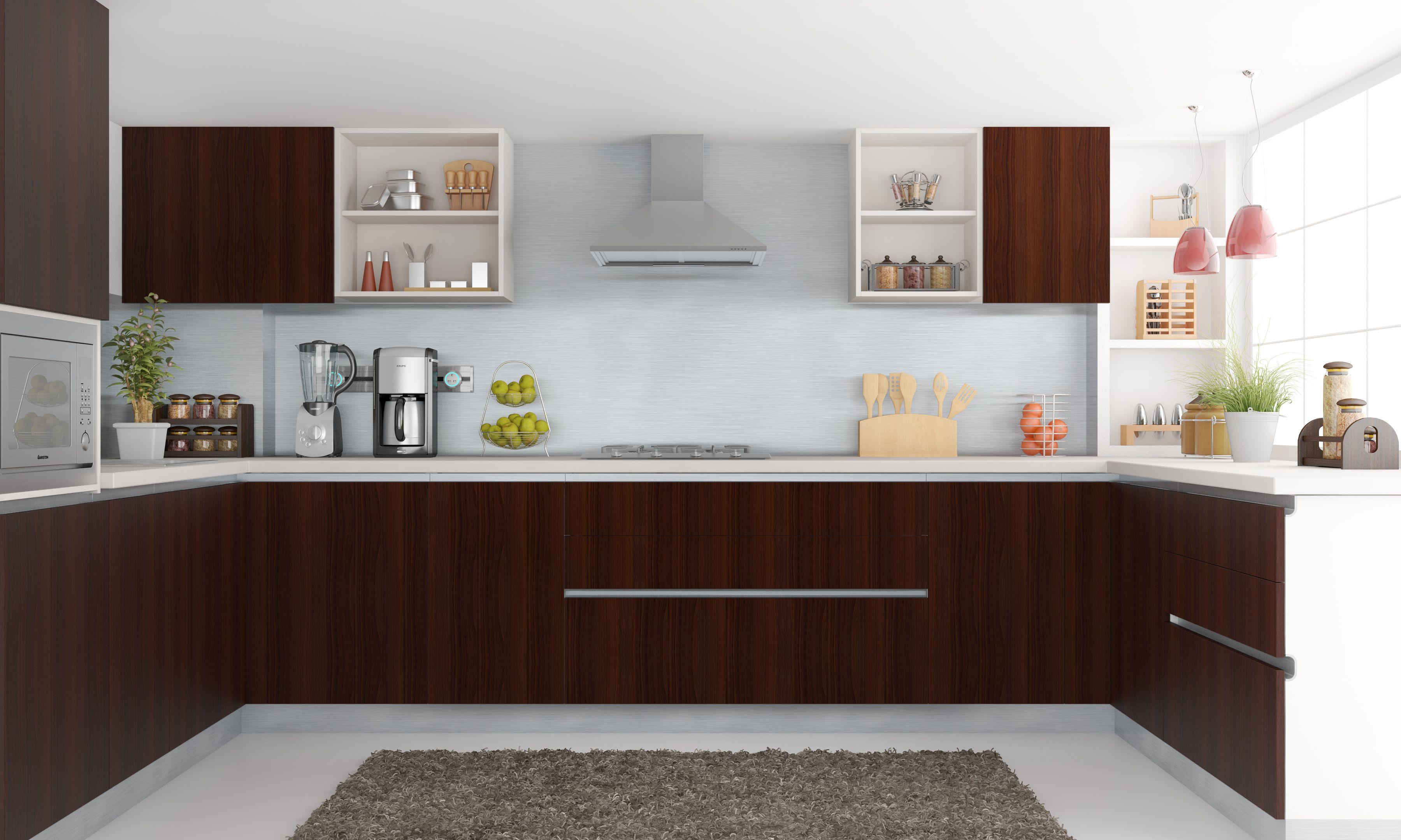 U_Shape #modular #kitchen #lifestyle  Designs  Pinterest  Kitchens Stunning Modular Kitchen U Shaped Design Decorating Design