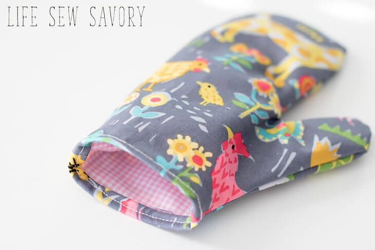 Kids Oven Mitt Free pattern & Tutorial – Hobby Lob