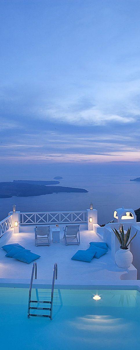 Summer travel inspiration: Sunset in Santorini, Greece