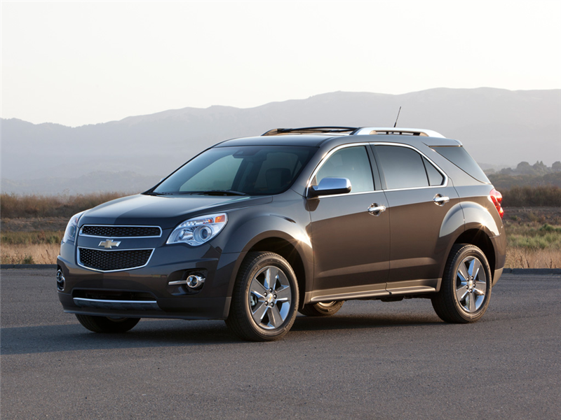 2015 Chevrolet Equinox Top 10 Best Gas Mileage Crossovers