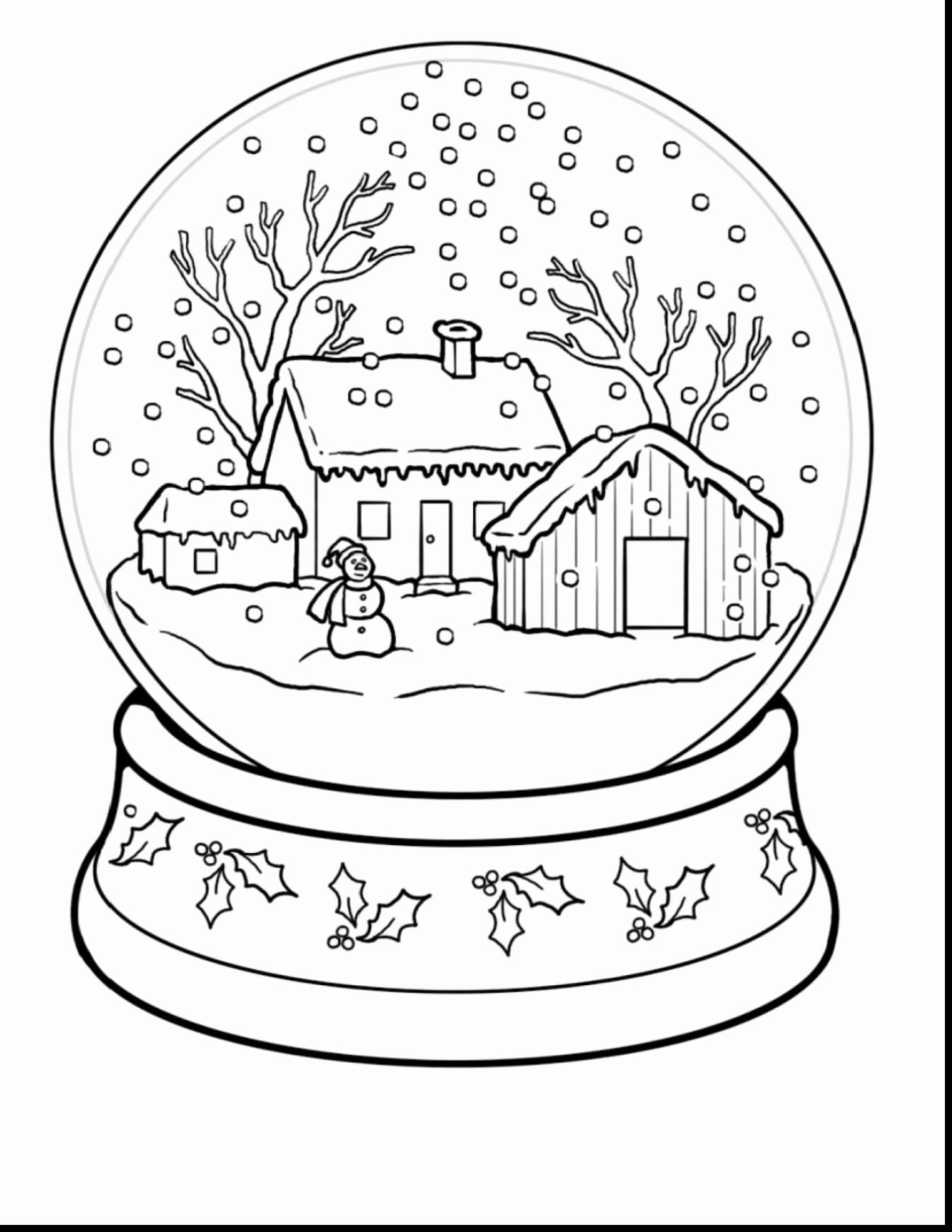 Free Architecture Coloring Pages Elegant Winter Colouring Pages