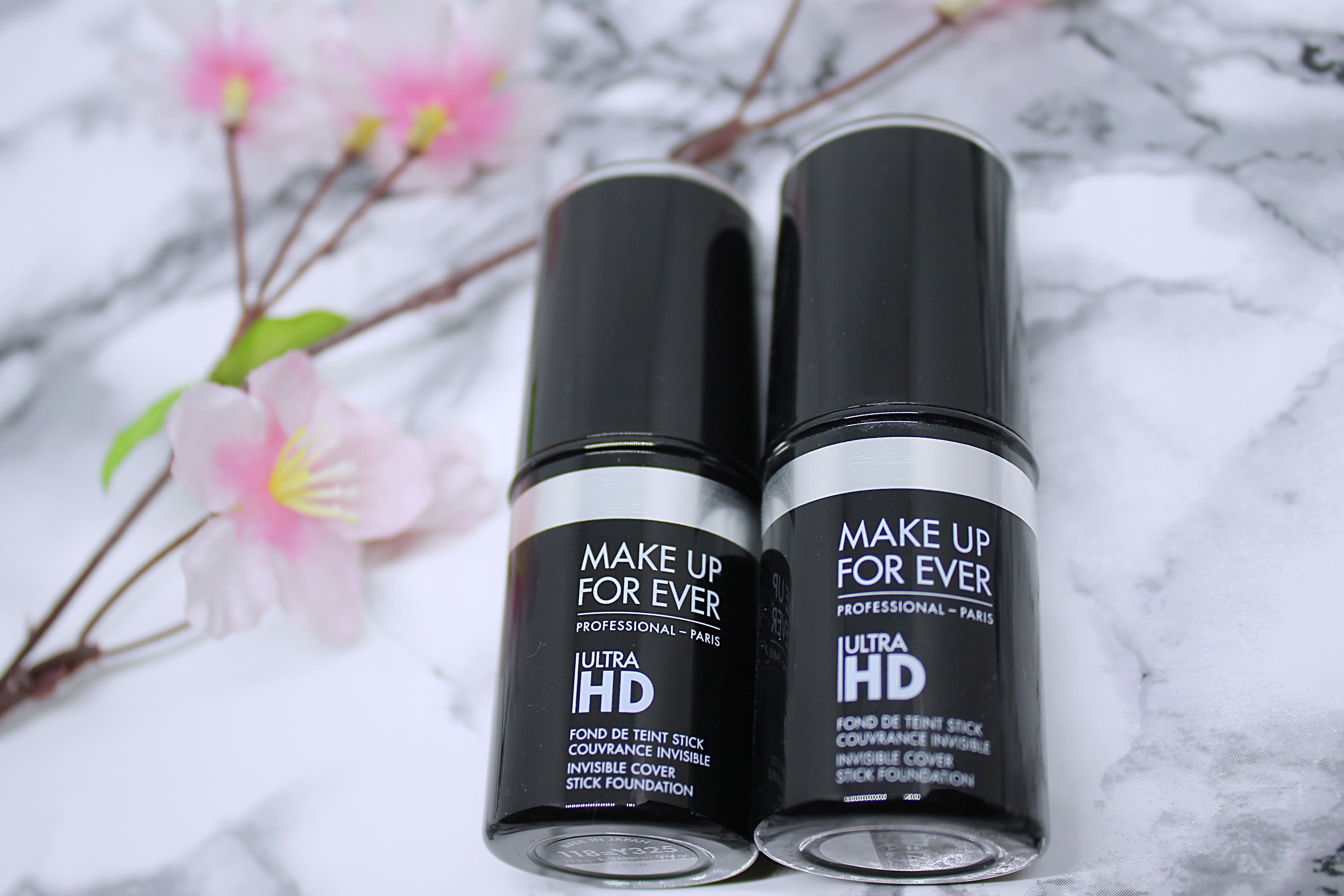 Review on the Make Up For Ever Ultra HD Invisible Cover