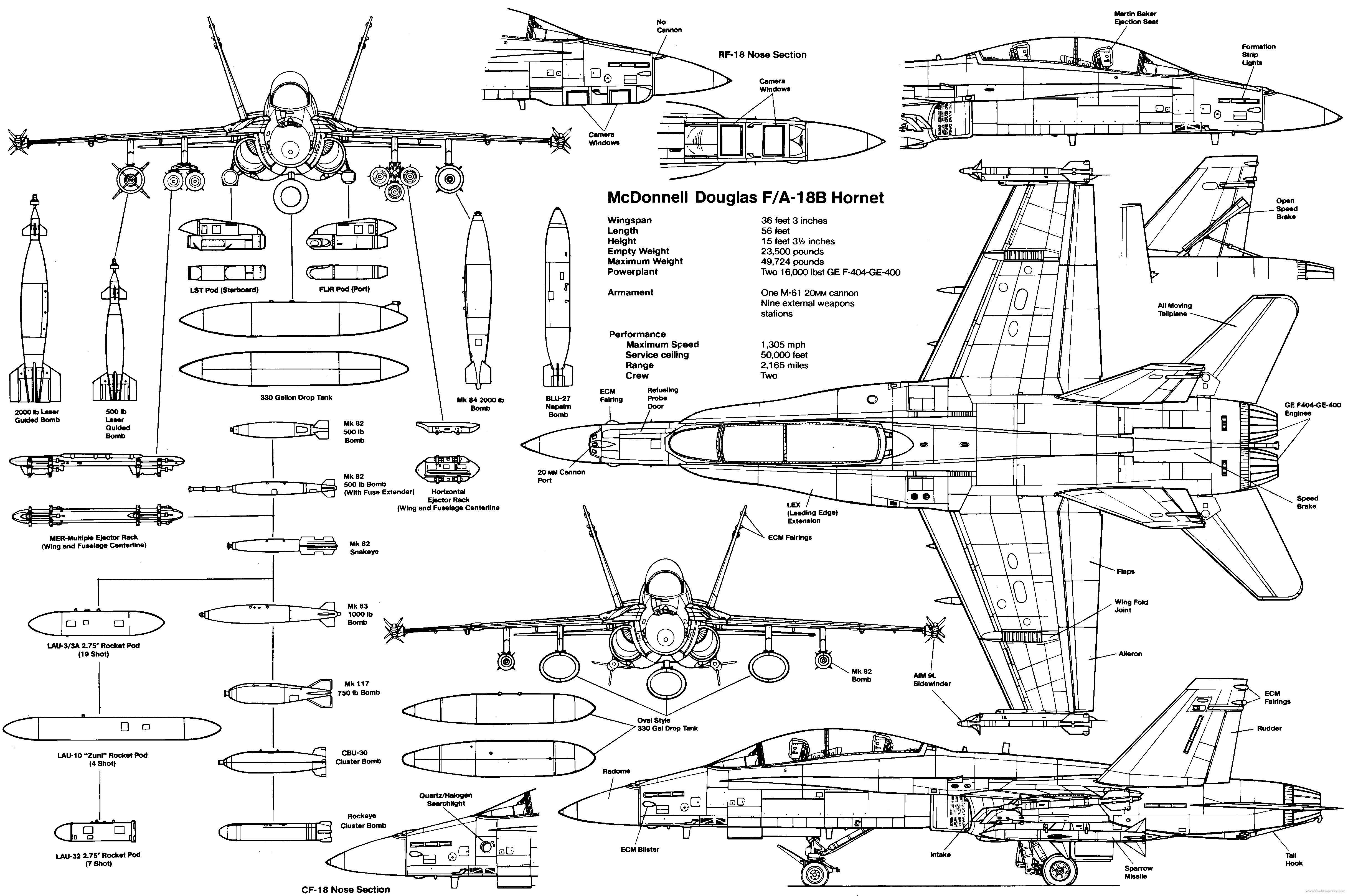 F 18 Fighter Jet Military Plane Airplane Usa 2