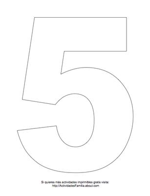 Dibujos de números para colorear | DIBUJOS PARA COLOREAR | Pinterest ...
