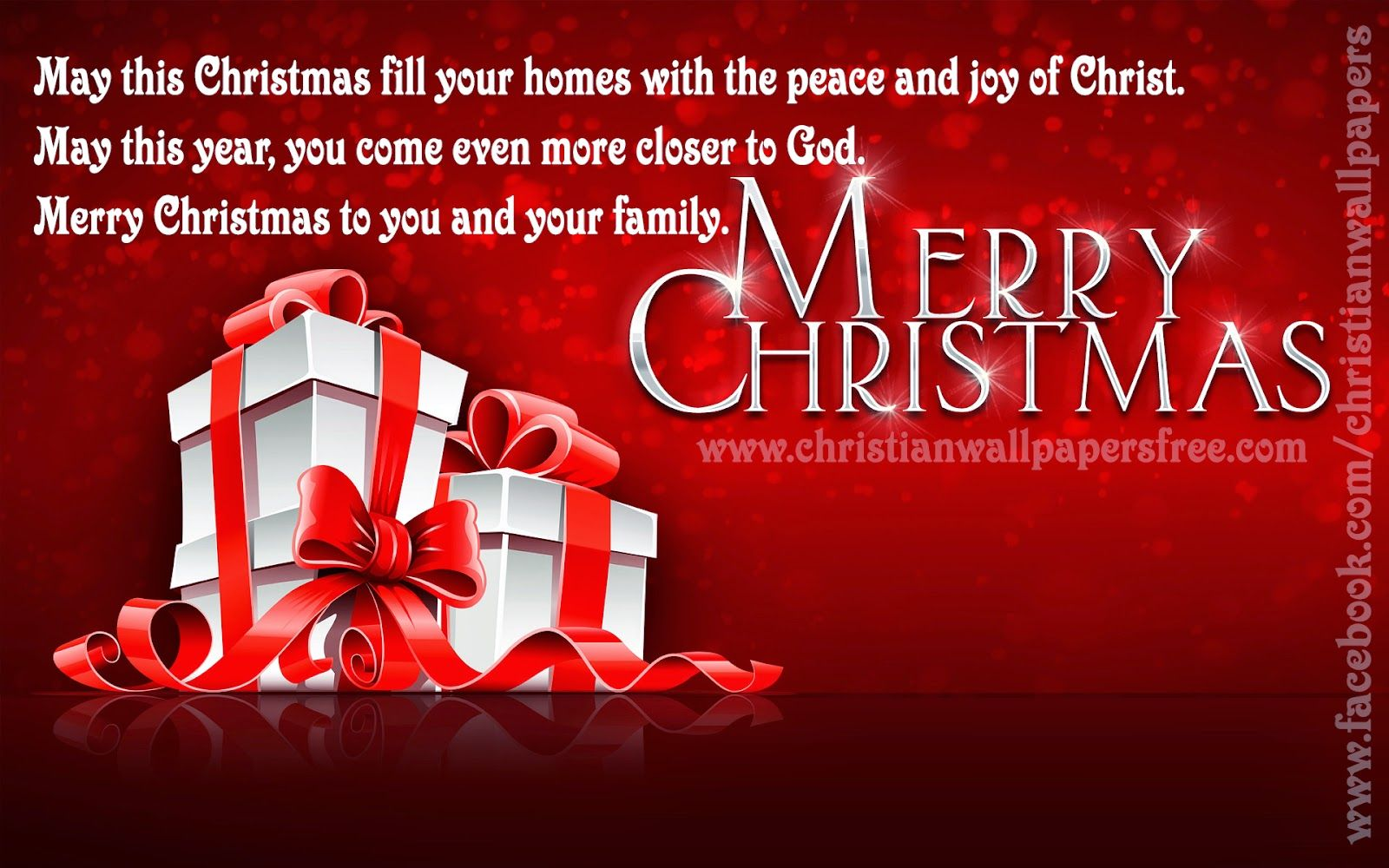 Merry Christmas Family Greetings Card Merry Christmas Family And Merry