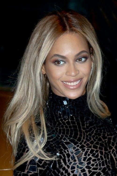Beyonce Ash Blonde Ash Blonde Hair Ash Hair Color Straight