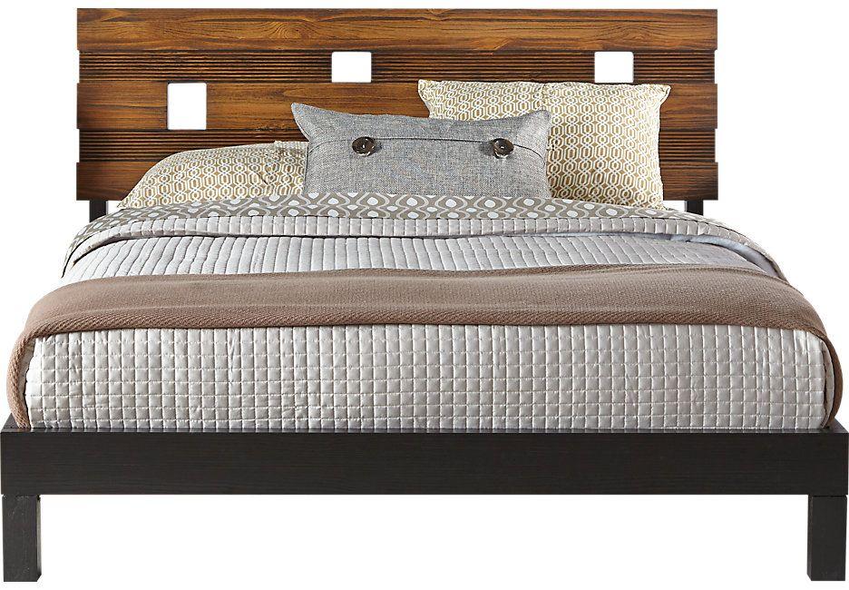 Gardenia Honey 3 Pc Queen Bed