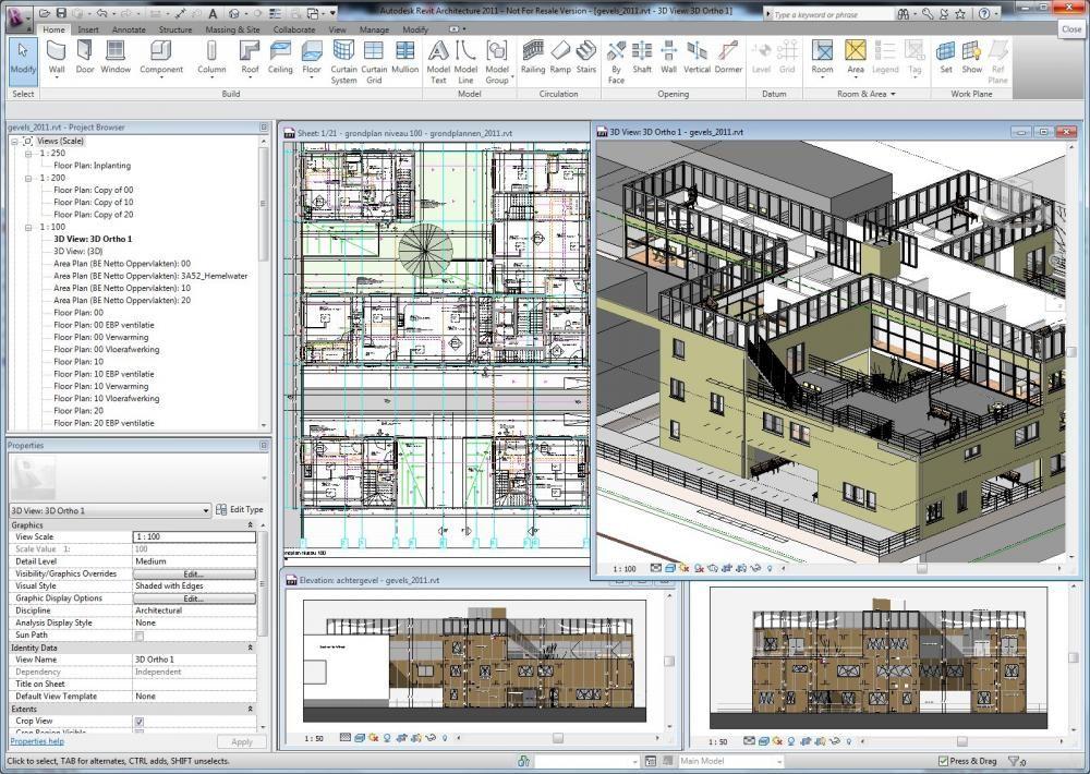 Start Revit Architecture Bij Howest Bachelor Toegepaste Architectuur C3a Architectuur