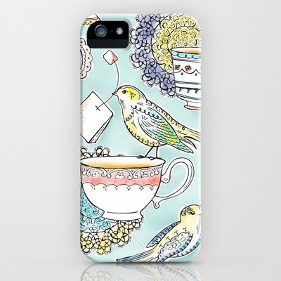 Tea Time iPhone & iPod Case by Heather Dutton - $35.00