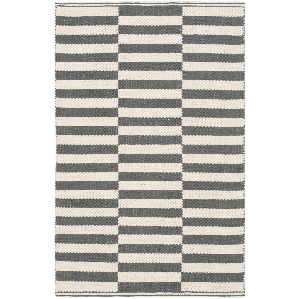 Montauk Ivory/Gray 2 ft. 3 in. x 3 ft. 9 in. Area Rug