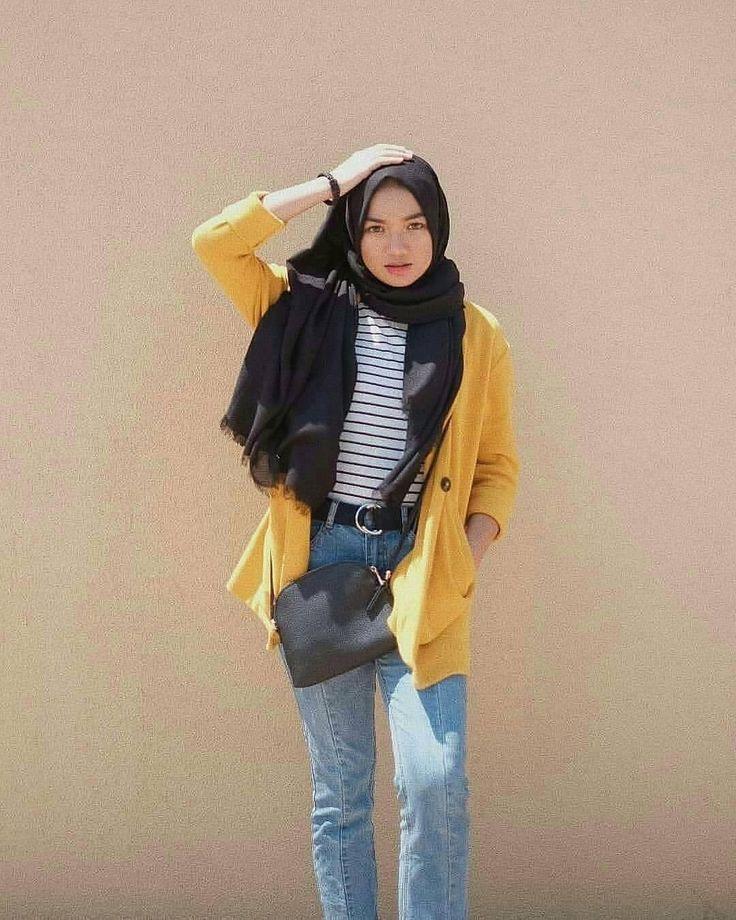 Cool Day Hijab Inspired Instagram Nadyaaisha Outfit Simple Nadyaaisha Instagram Inspired Sim Gaya Model Pakaian Gaya Berpakaian Model Pakaian