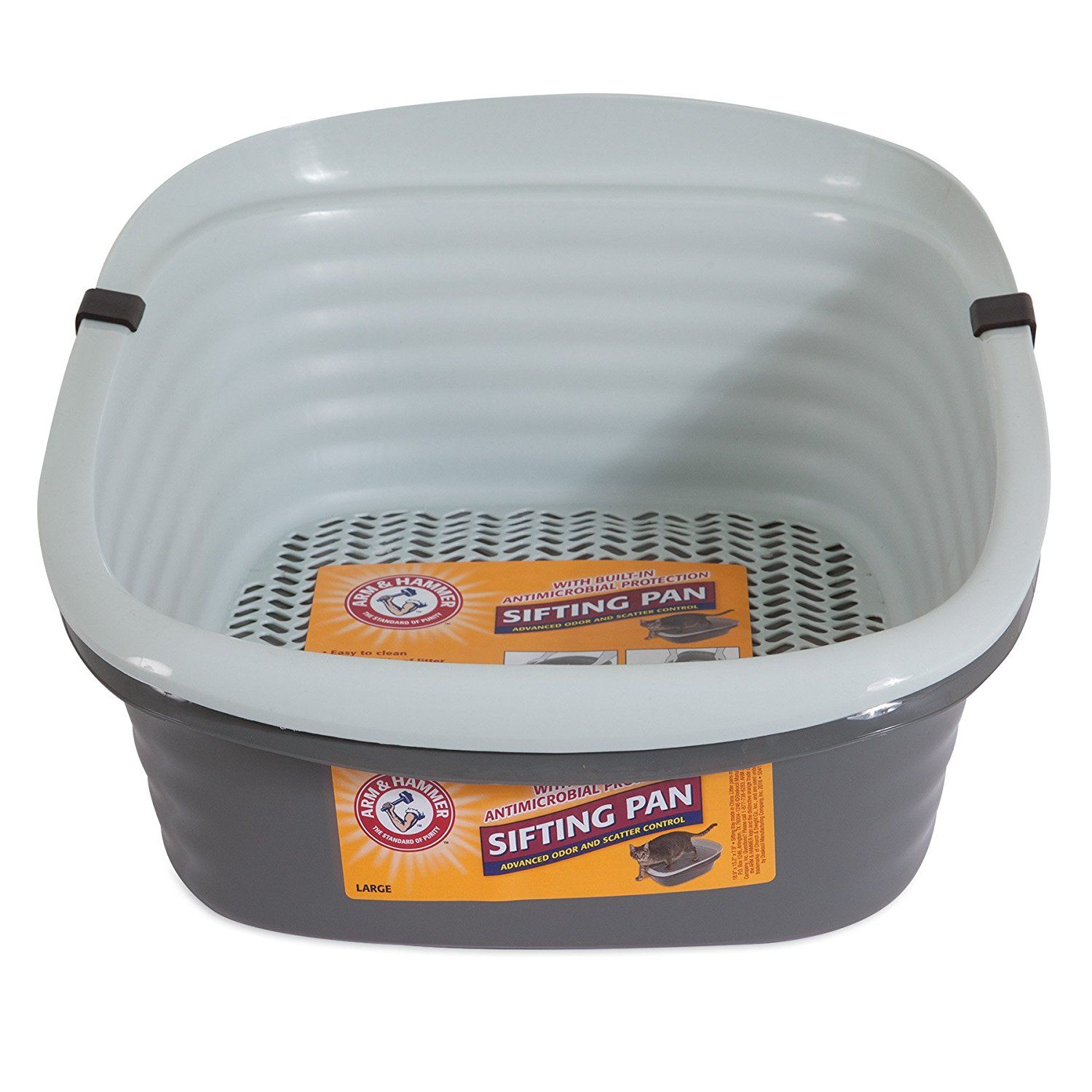 Arm and Hammer Sifting Litter Pan More info could be found