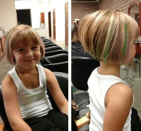 35++ Short bob hairstyles for little girls ideas