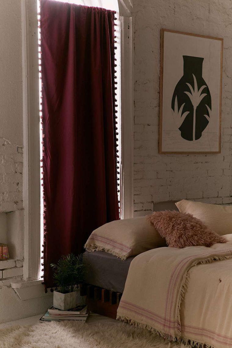 deco rideau chambre. Black Bedroom Furniture Sets. Home Design Ideas