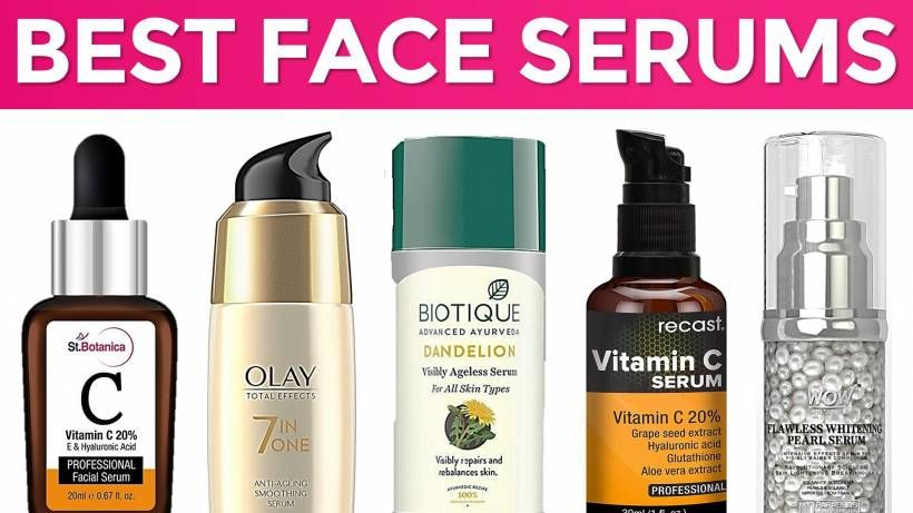 10 Best Face Serums For Glowing Skin In India With Price For Oily Dry Sensitive Skin Best Face Serum Best Face Products Face Serum