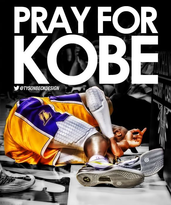 Pray For Kobe : Tyson Beck Designs