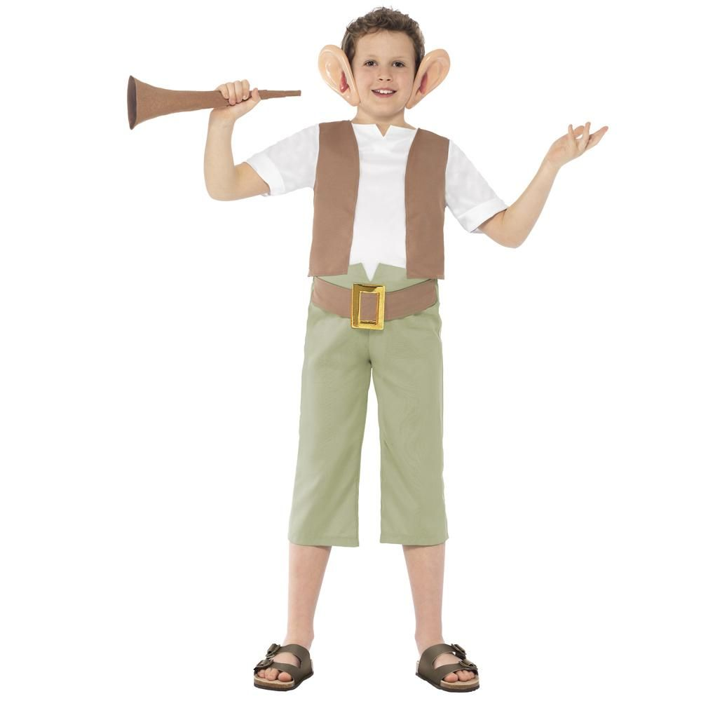 Childs Roald Dahl Charlie Bucket Costume Libro Day Outfit Da Smiffys