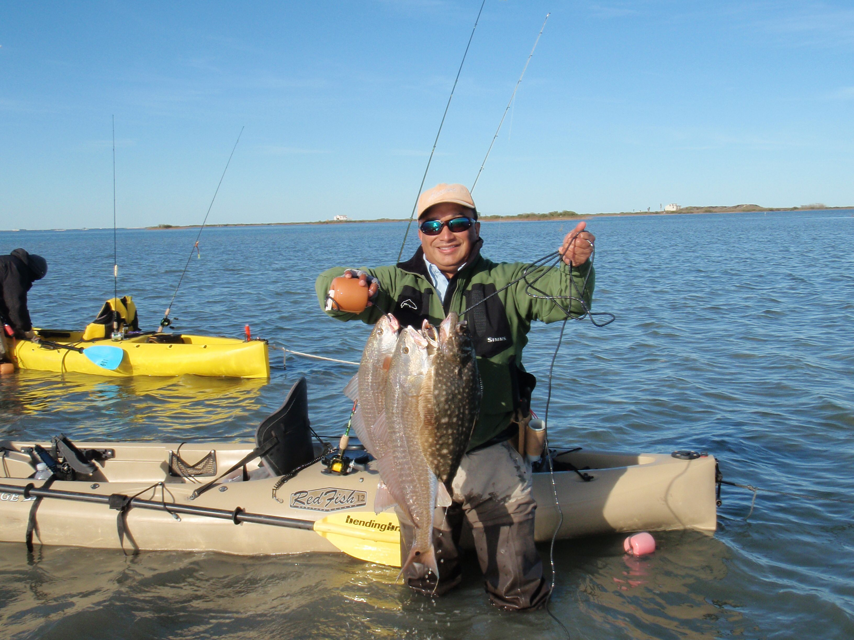 January wade fishing trip caught with plum devil eye for Saltwater wade fishing gear