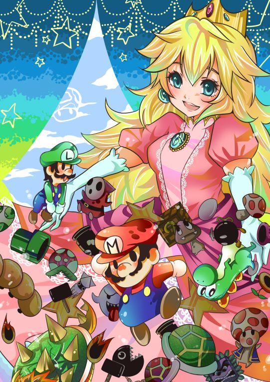 Tags Anime Fanart Nintendo Super Mario Bros Yoshi Anime