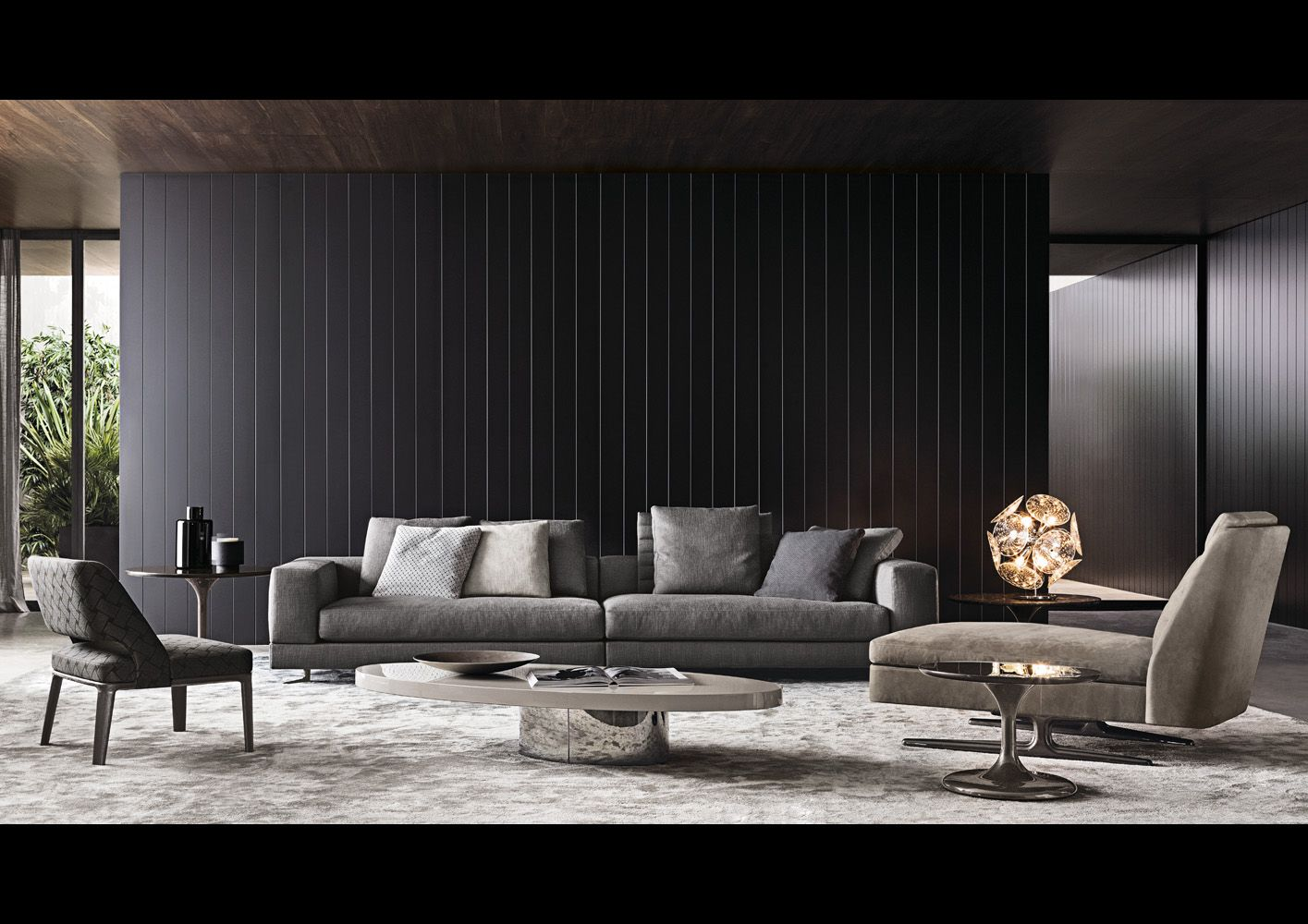 Smink Incorporated | Products | Sofas | Minotti | Sherman | BB_Villa |  Pinterest | iPad, Living rooms and Interiors