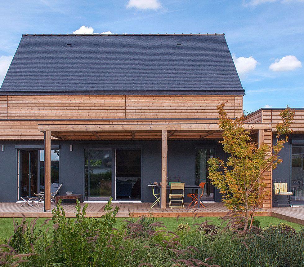 booa, constructeur français nouvelle génération. Collection de maisons ossature bois design ...