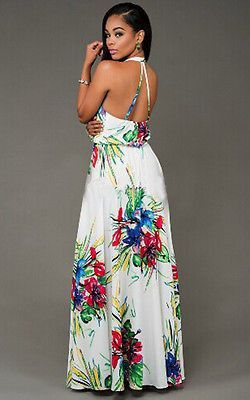 Summer Floral Macxi Dress Maxi Dress Womens Long Dresses Fashion