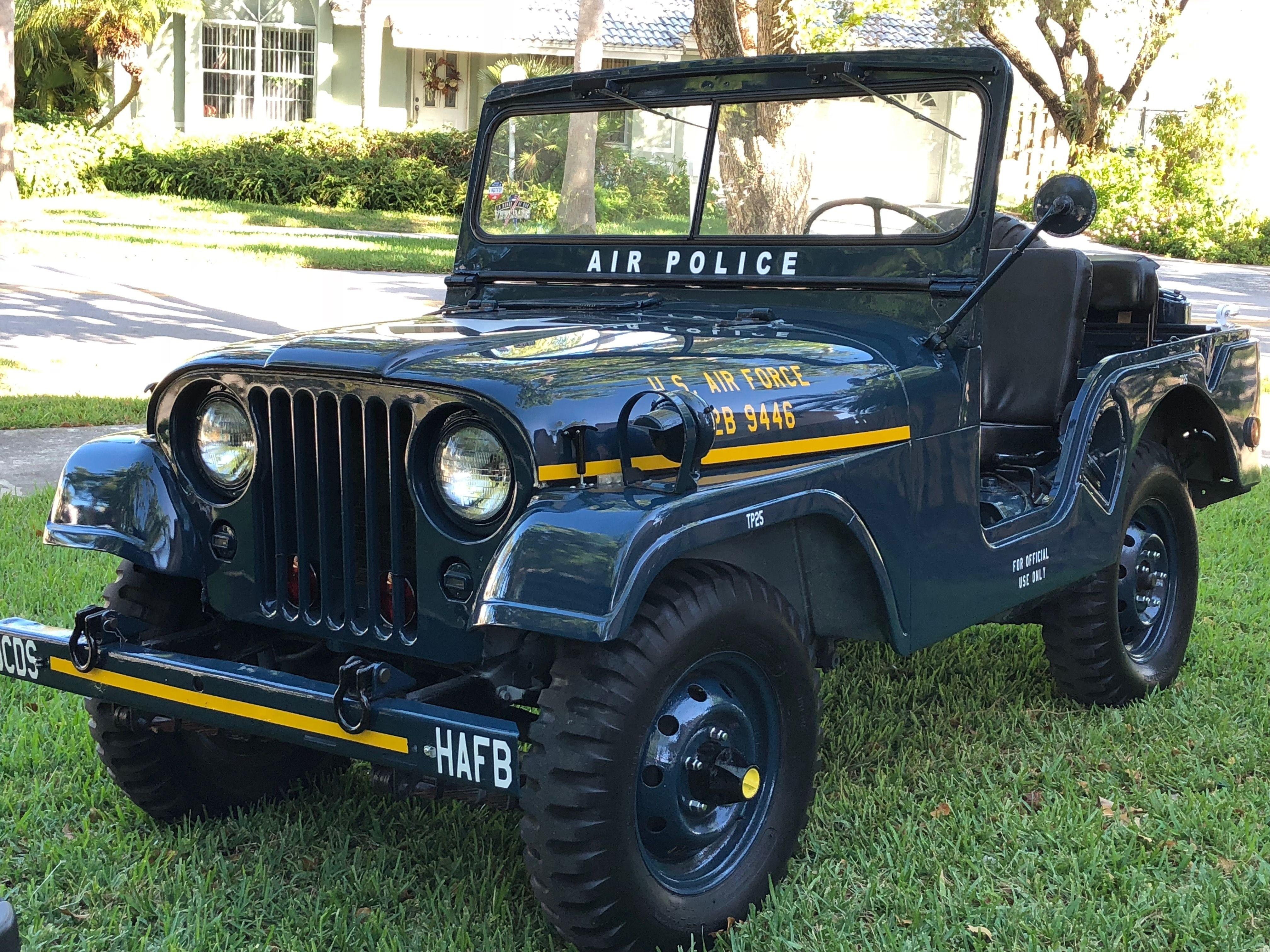 M38a1 Air Force Jeep Jeep Cj Military Jeep Jeep Cj5