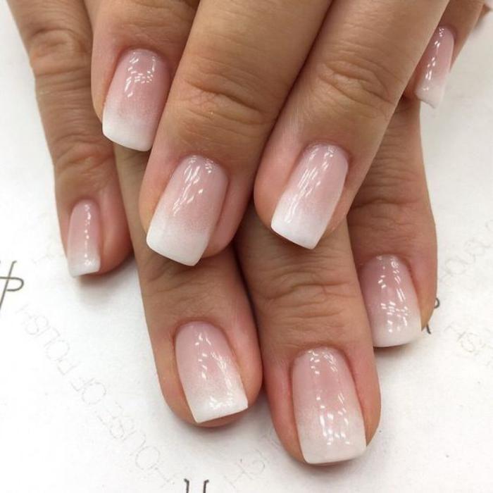 La manucure ombr en 68 photos et plusieurs vid os utiles for Salon pour les ongles