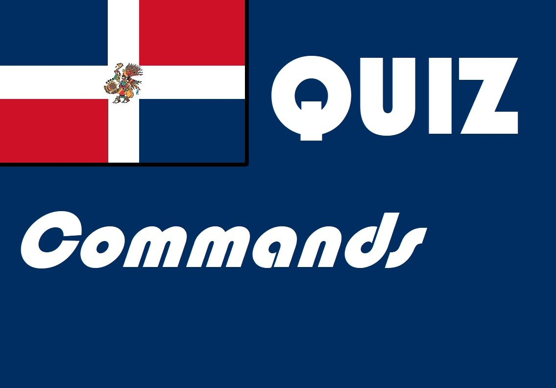 Spanish Commands Quiz Or Worksheet Distance Learning