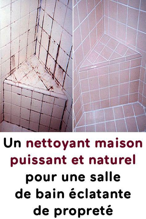Un nettoyant maison puissant et naturel pour une salle de bain clatante de propret astuces - Desodorisant naturel pour maison ...
