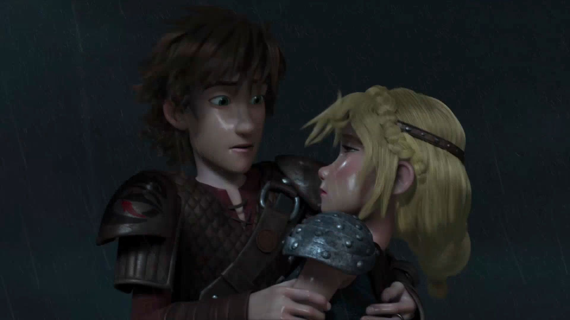 hiccup and astrid how to train your dragon 1