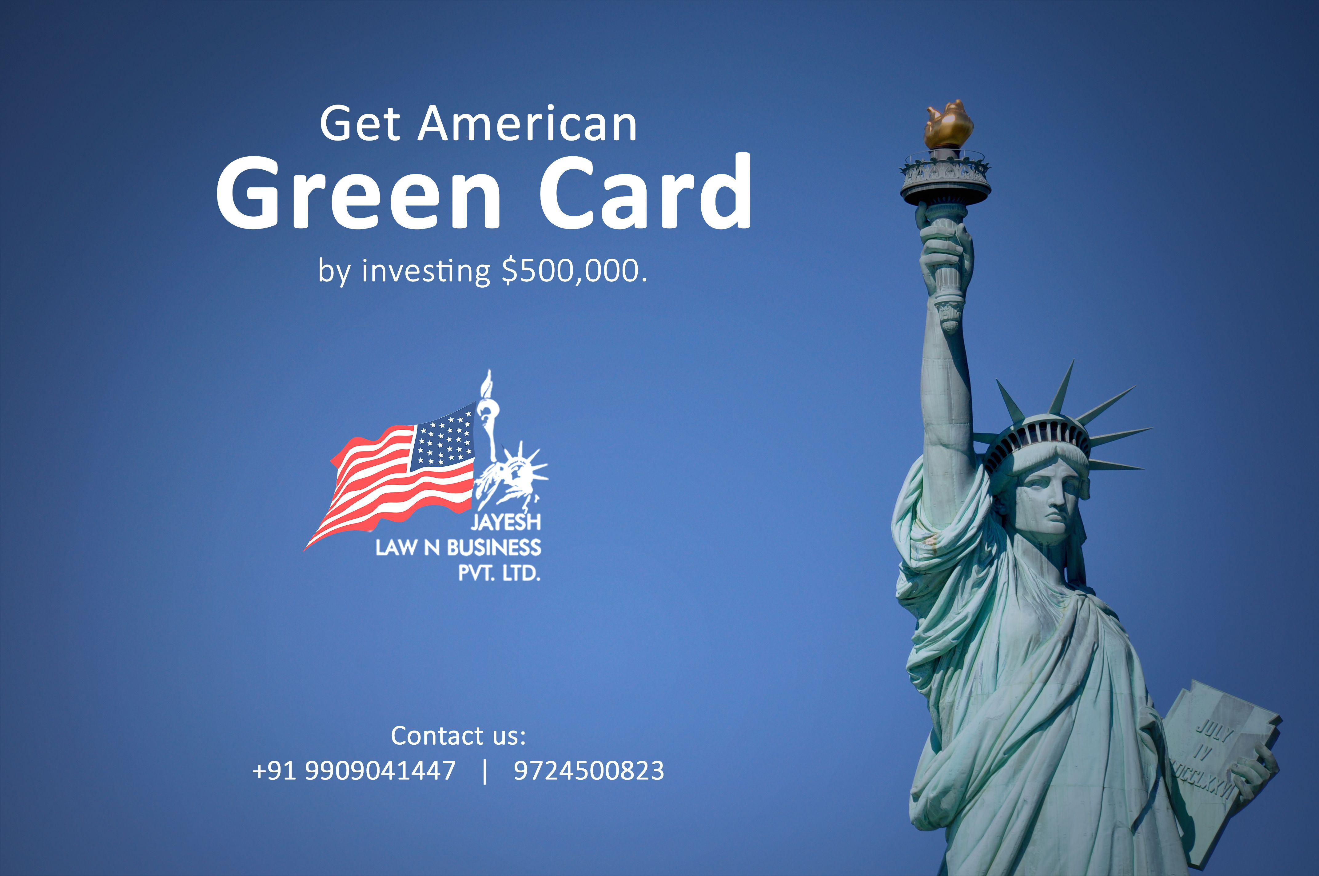 Get american green card by investing 500000 jayesh law n business get american green card by investing 500000 jayesh law n business pvt ltd eb5india eb5visa reheart Image collections