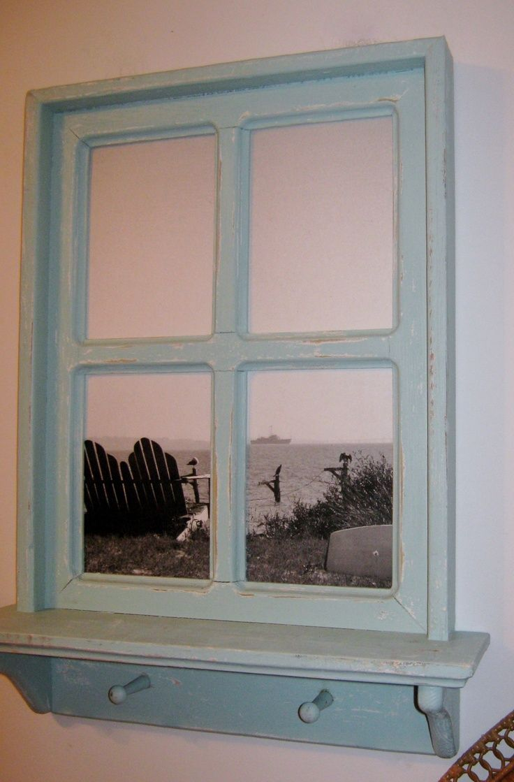 Frame Ideas Old Window Picture