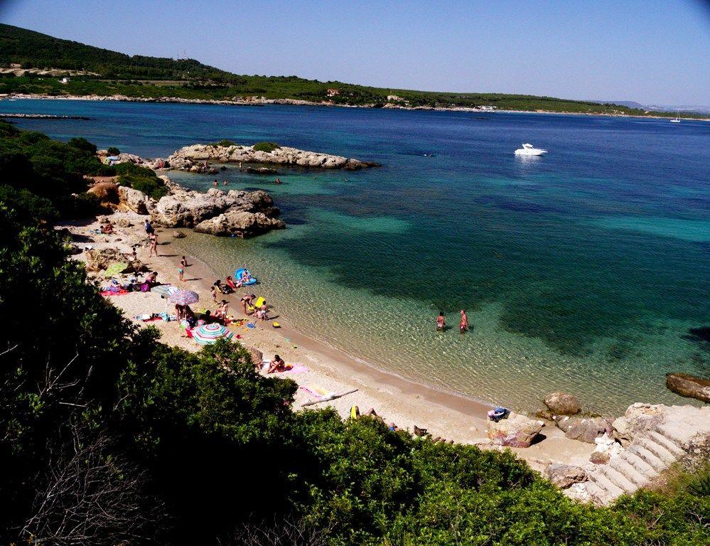 Lazzaretto Beach Alghero Sardinia