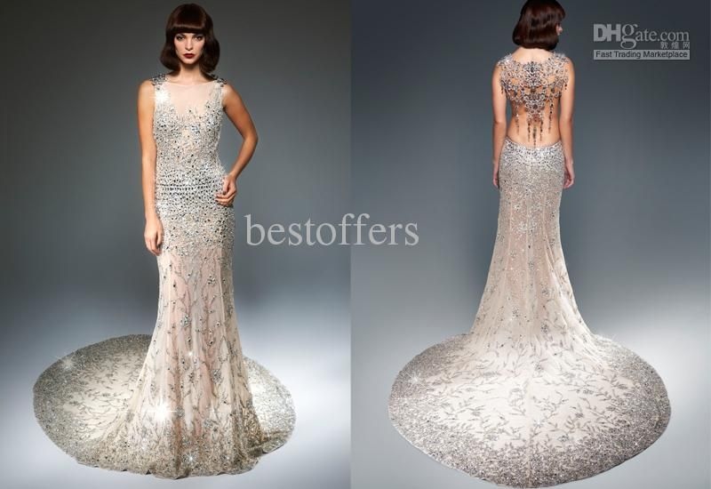 Blingy Wedding Dresses Ball Gown Wedding Dress With Bling Naf ...
