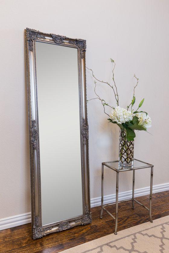 Mayfair Belle Antique Silver Floor Mirror | mirrors | Pinterest ...