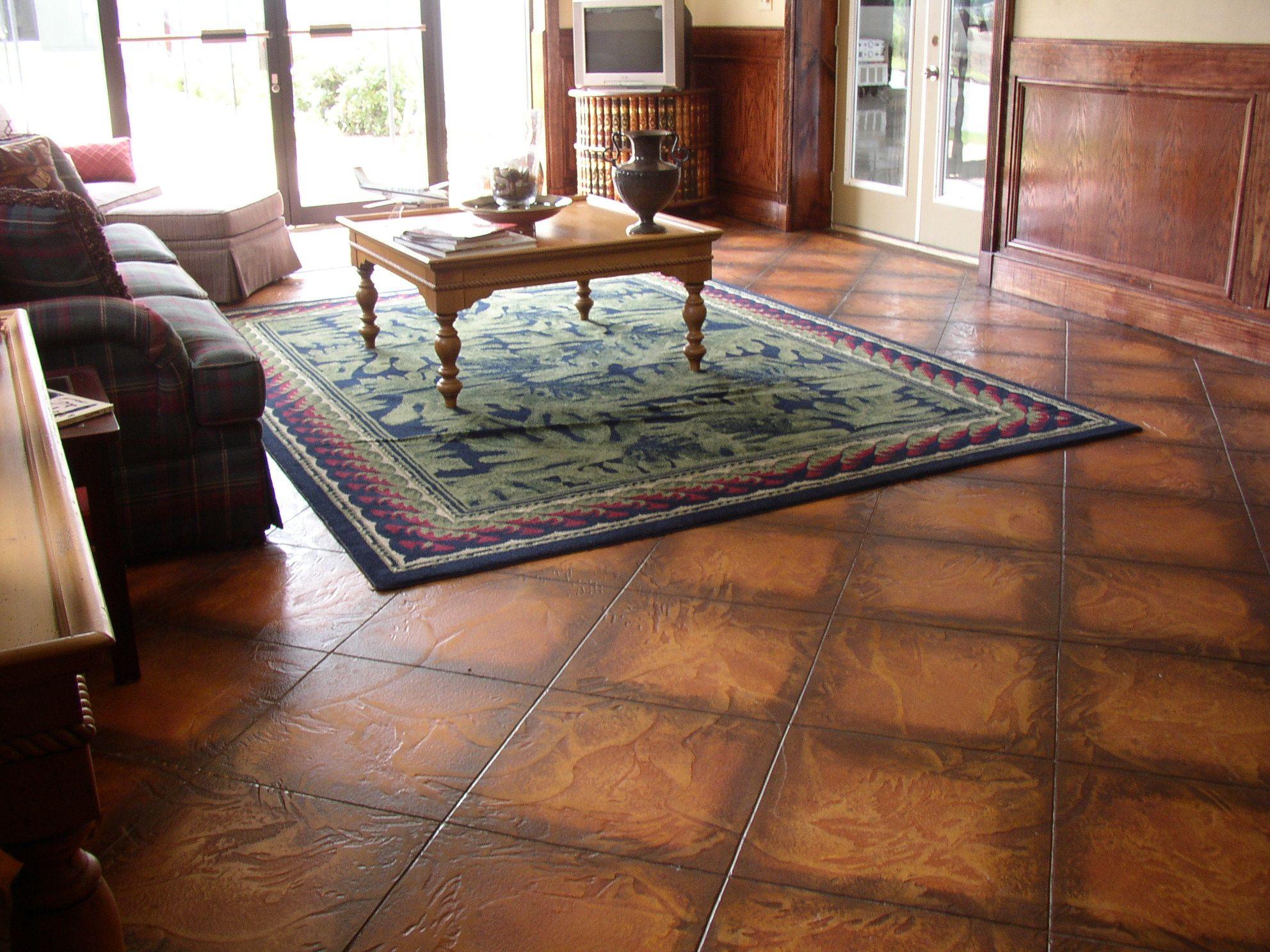 Concrete floor finishes custom interior flooring my for Interior concrete floors