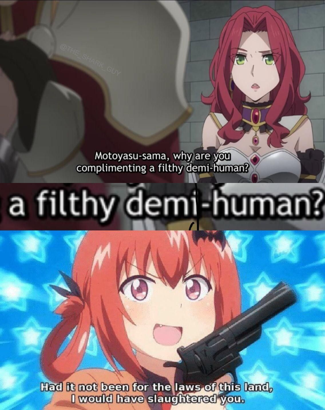 Heresy With Images Anime Jokes Anime Memes Anime Funny